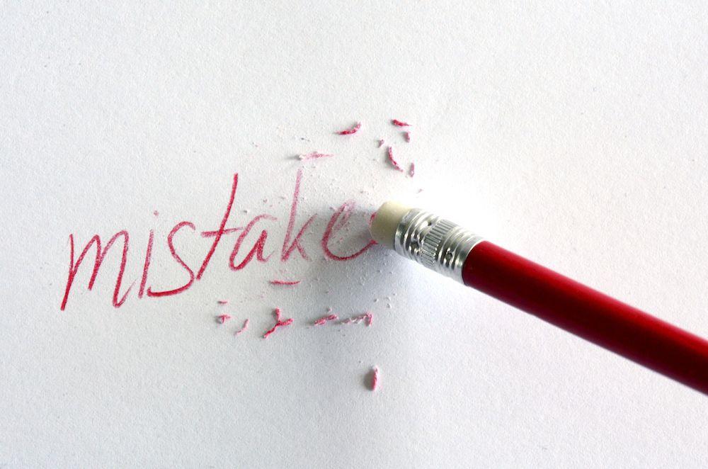 Self Assessment Mistake