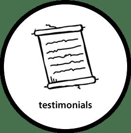 Accountants testimonials